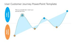 Flat PowerPoint Graphs for Marketing