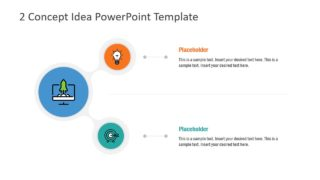 2 Concept Idea PowerPoint Template