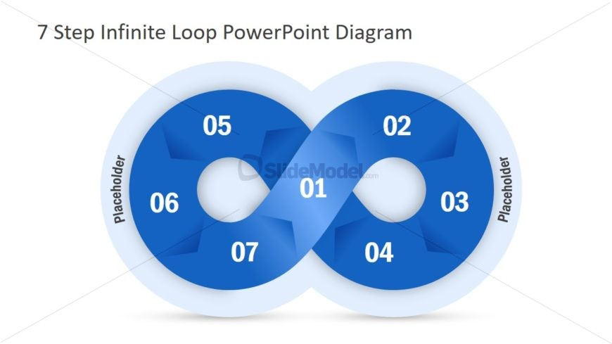 PPT Diagram Template Chevron