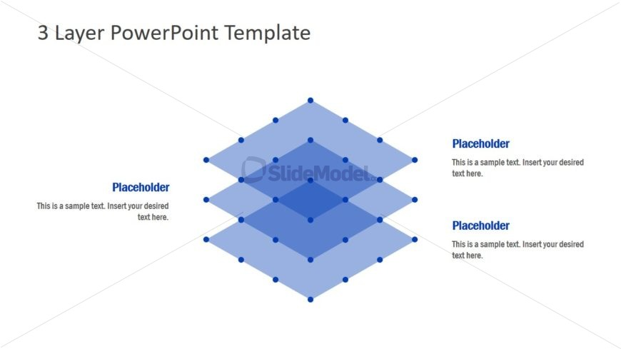 PowerPoint Diagram of 3 Layers