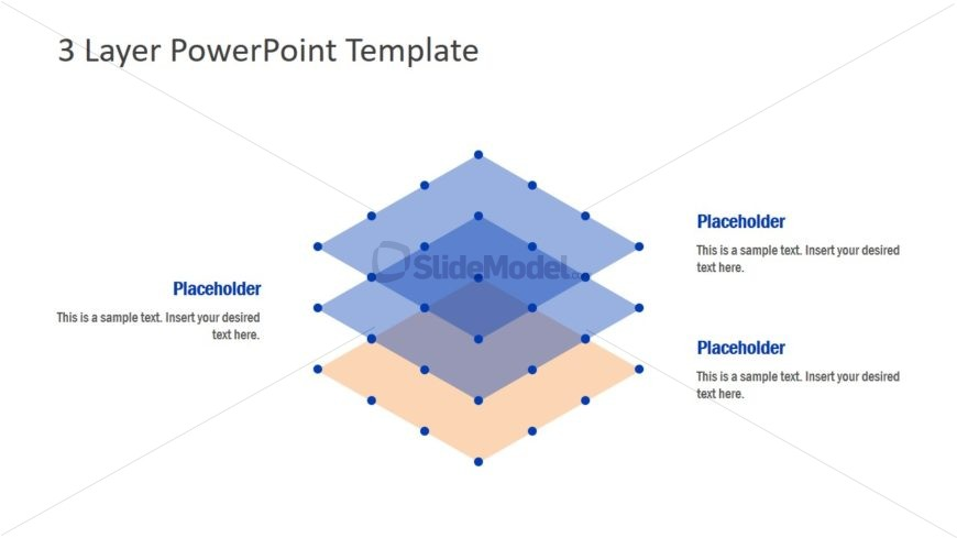 Semi Transparent Layered Diagram