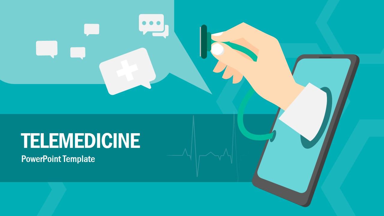 Telemedicine Presentation Layout Design