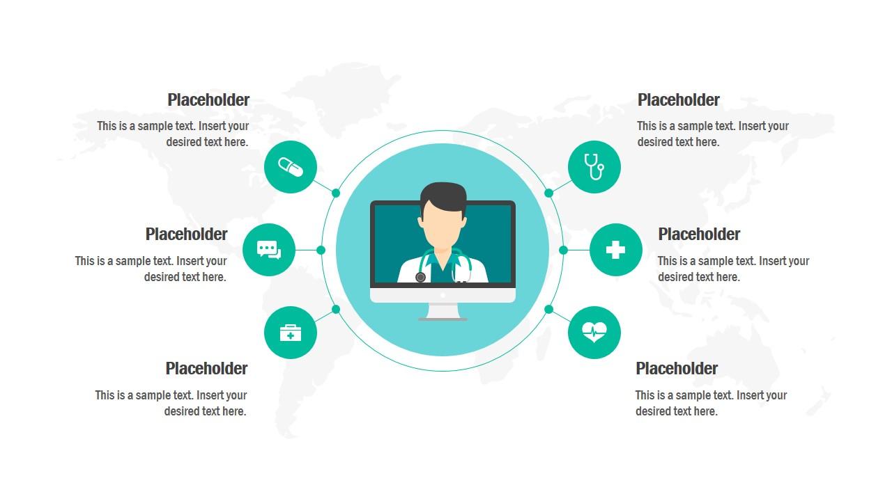 Circular PowerPoint Infographic Slide