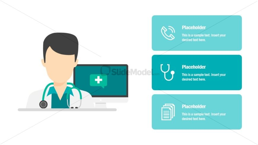 Technology PowerPoint of Medical Industry