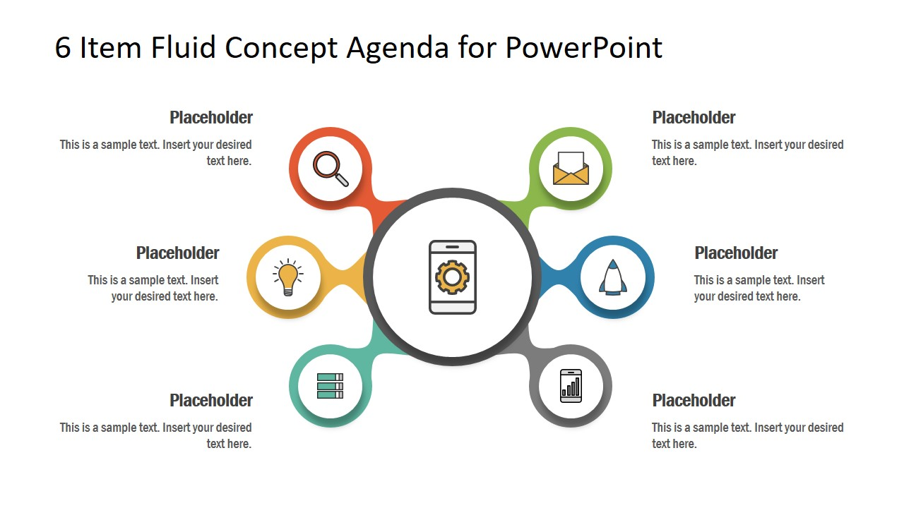 Core Concept PowerPoint 6 Items