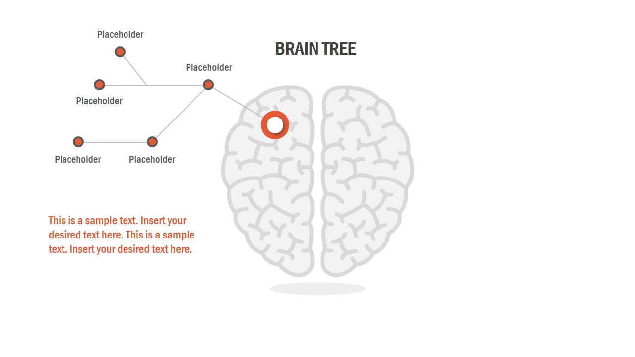 diagram template of brain tree
