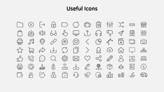 84 Clipart Infographic Icons Slide