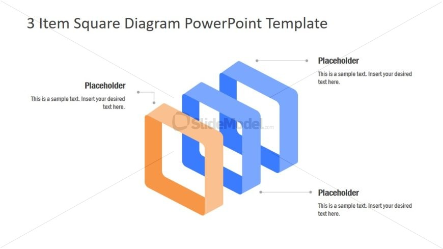 PowerPoint Design of 3 Item Concept