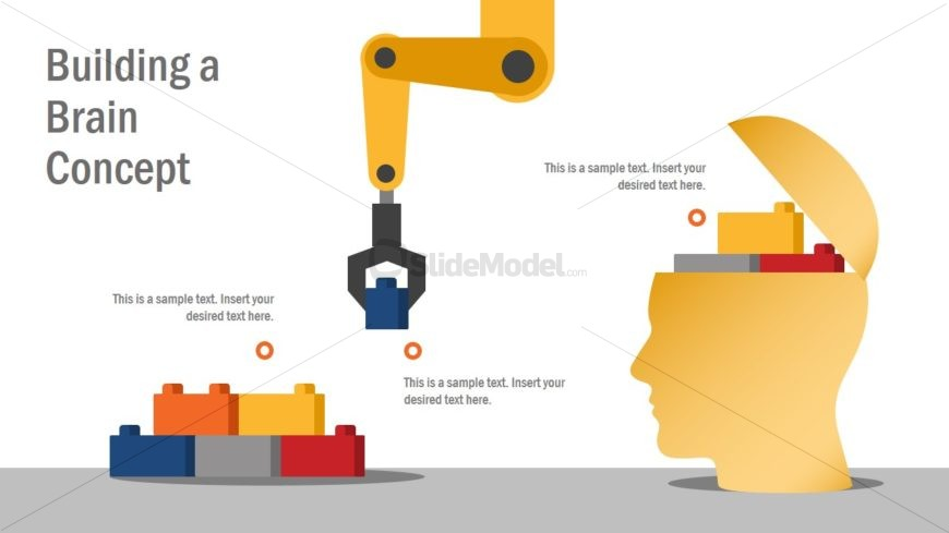 Building Blocks and Industrial Robot PPT