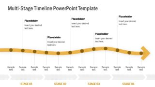 Multi-Stage Timeline PowerPoint Template