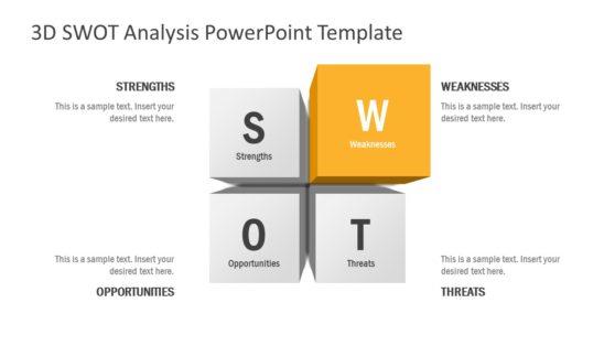 SWOT Analysis 3D Presentation