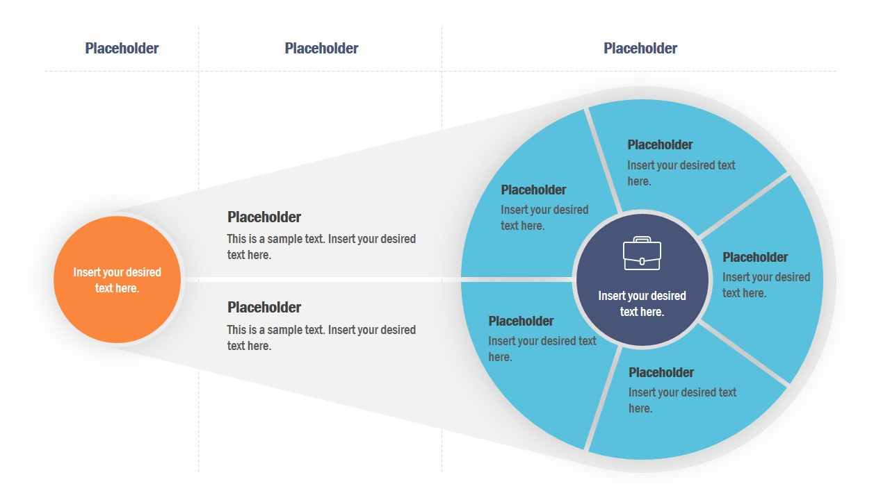Creative Strategy Diagram for PowerPoint - SlideModel