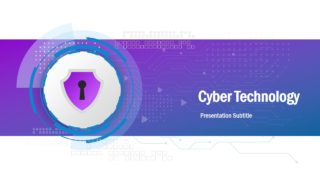 Cyber Technology PowerPoint Template