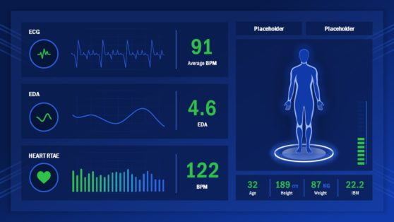 Heathcare and Fitness Dashboard PPT