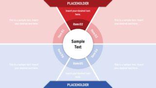 6 Steps Circular Core Template