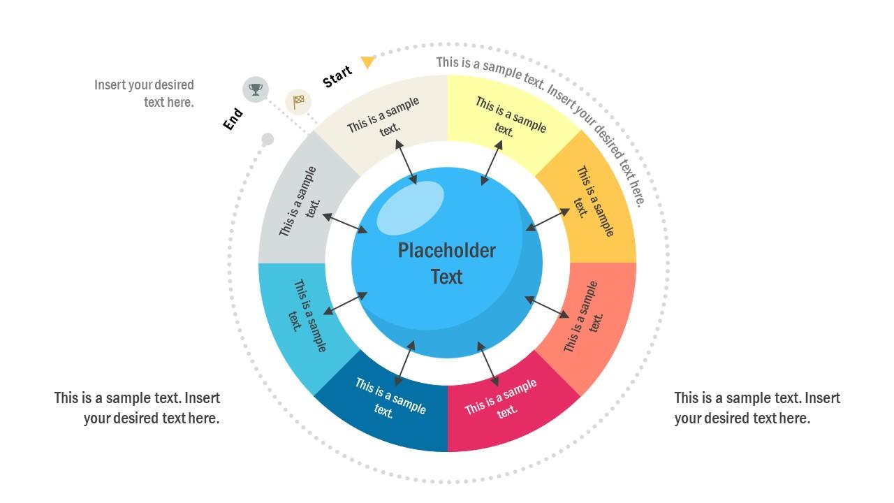 8 Steps Circular Diagram Template