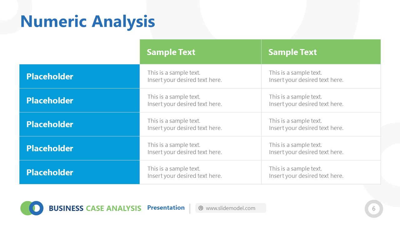 Data Table for Statistical Reports