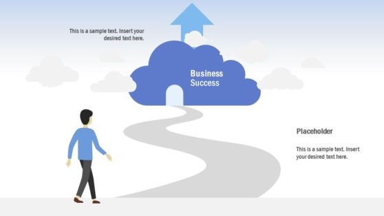 Roadmap PowerPoint for Cloud Computing