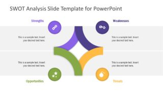 SWOT Analysis Slide PowerPoint Template