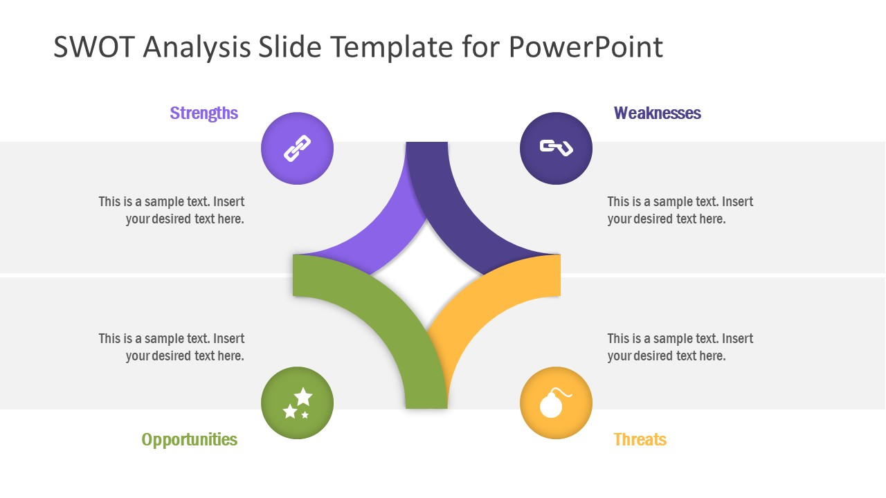 SWOT Analysis PPT Design