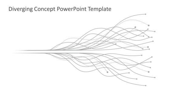 Flat Diverging Concept Template