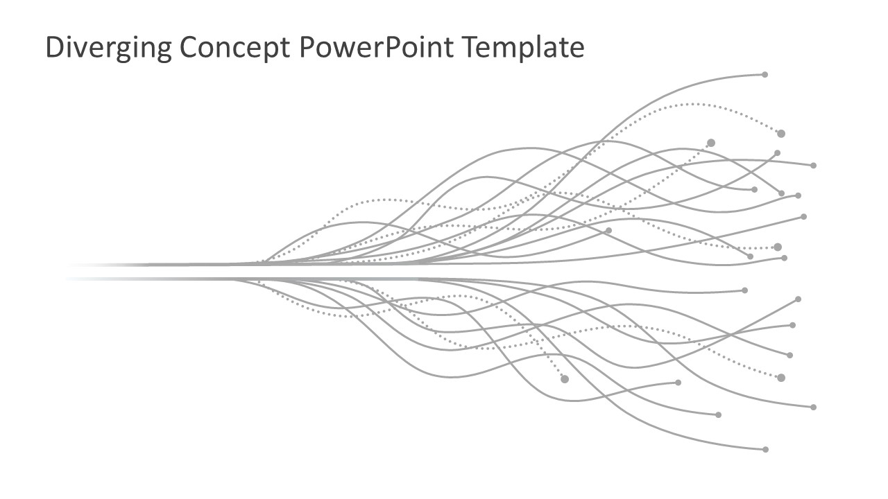 Diverging Lines in PowerPoint