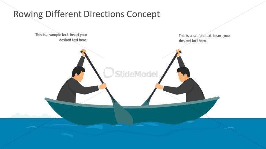 Business and Management Rowing Metaphor
