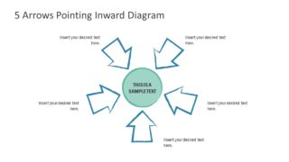 Chevron Arrow PowerPoint Cycle