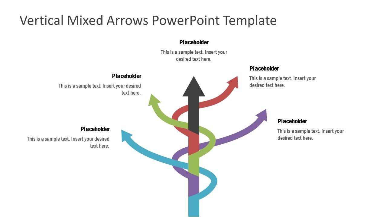 Tree Diagram Mixed Arrows