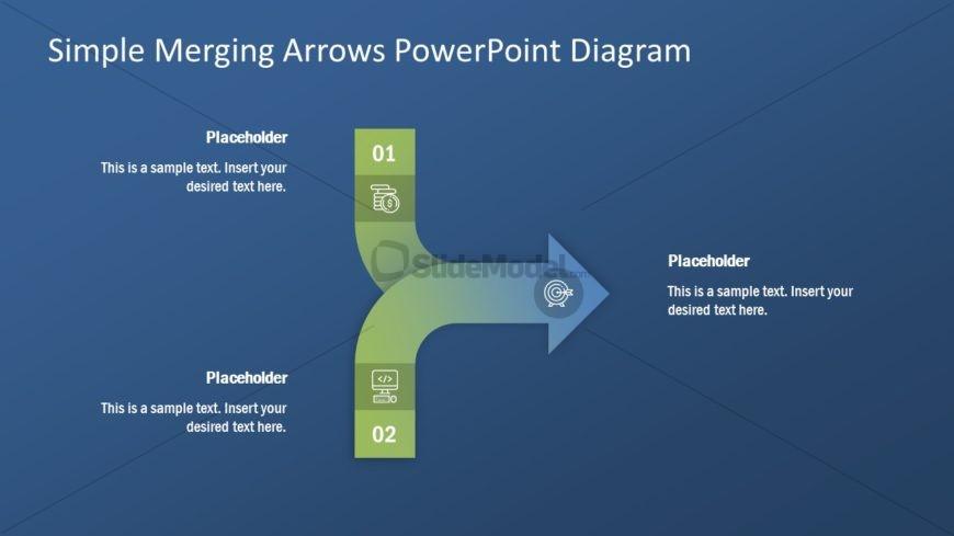 Presentation Template of Merging Arrows