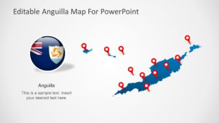 Anguilla PowerPoint Map