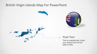 Map PowerPoint Silhouette Slide