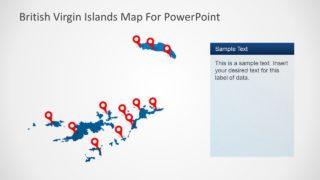 Map Template British Virgin Island
