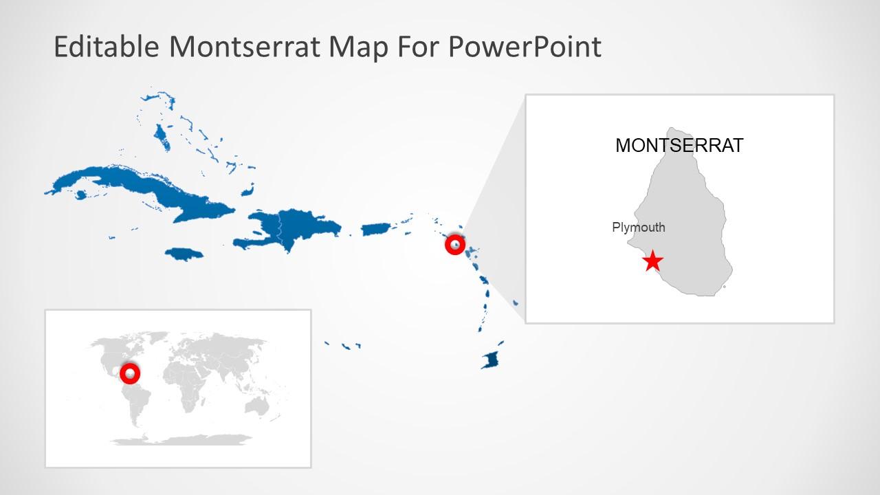 Caribbean Sea Island Map