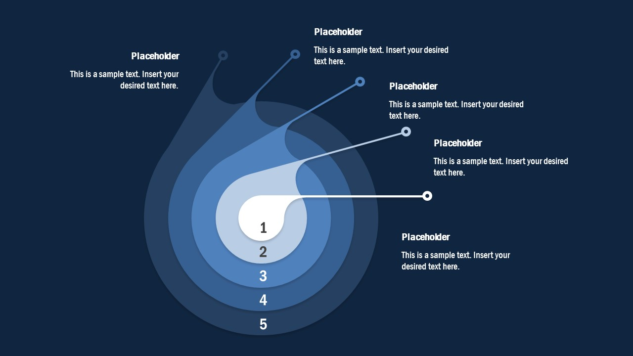 Concentric Circle PowerPoint Diagram