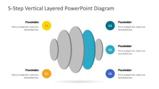 Slide Design for 5 Circular Segments