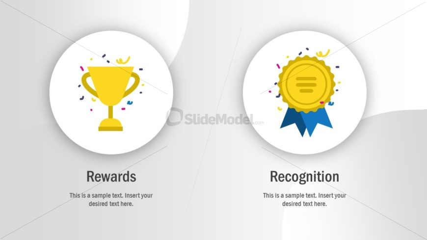 Employee Recognition Trophy Badge