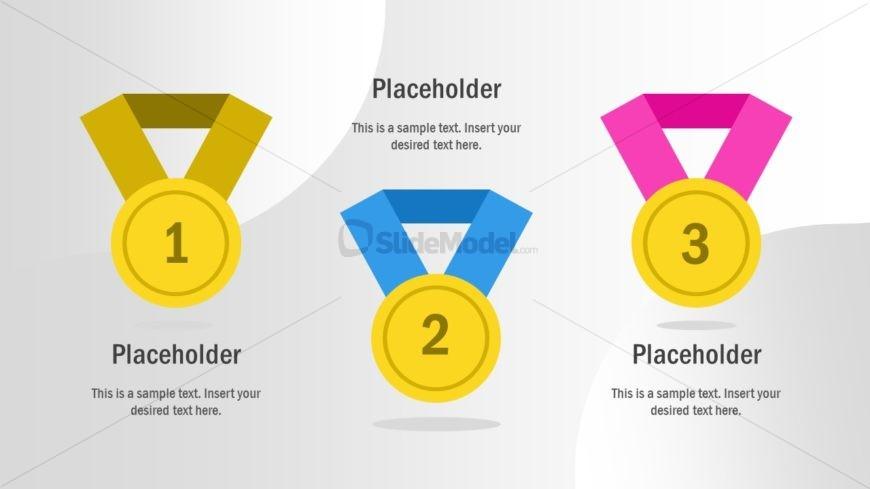 Employee Recognition Medals Metaphor