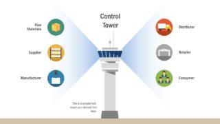 Management Concept Control Tower