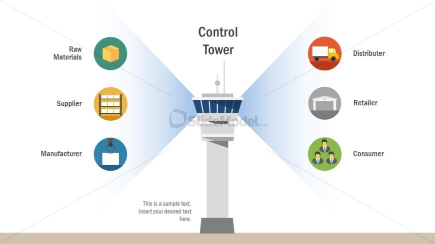 Management Concept Control Tower