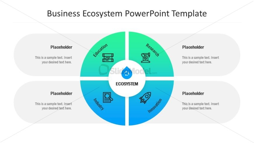 Business PowerPoint Diagram for Organization