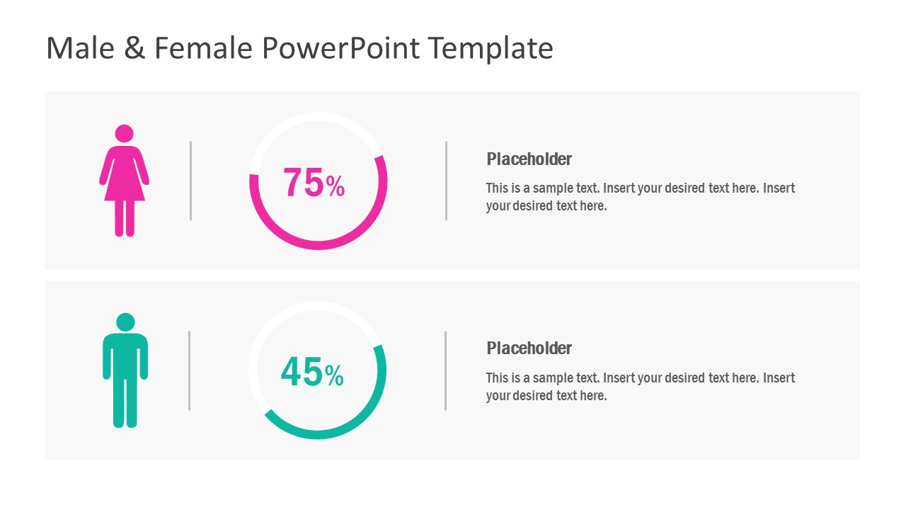 Infographic Comparison PowerPoint Chart