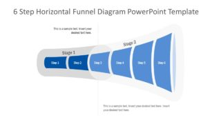 Flat Funnel PowerPoint Diagram