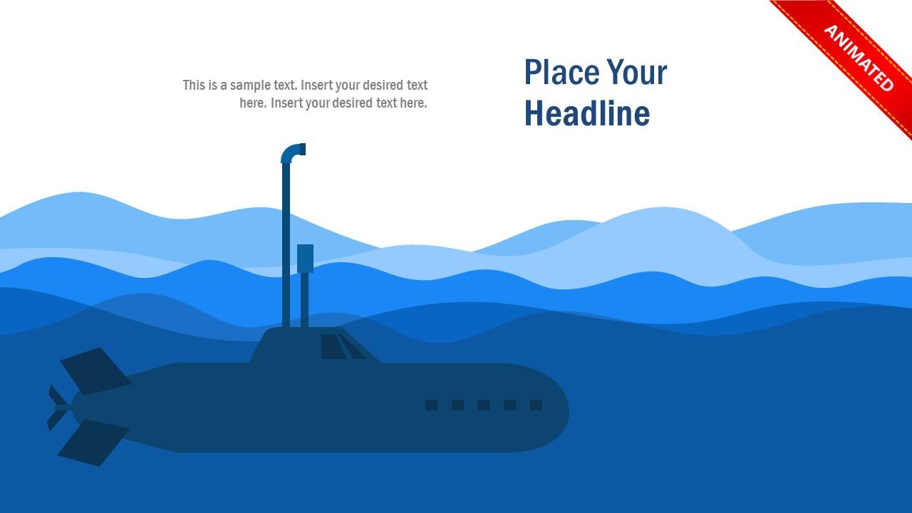 Animated Periscope of Submarine PowerPoint