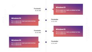 Presentation of Vertical Timeline Design