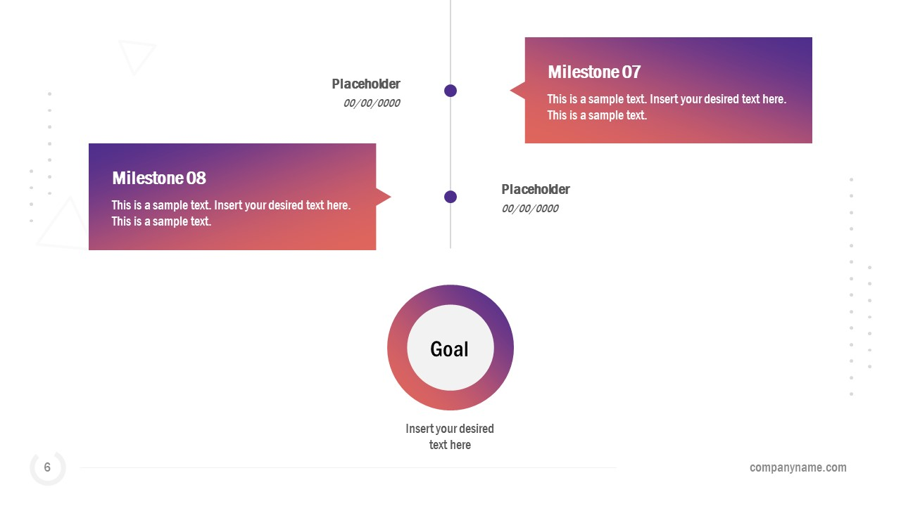 Business Timeline with Animations