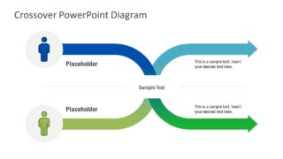 Crossover PowerPoint Diagram