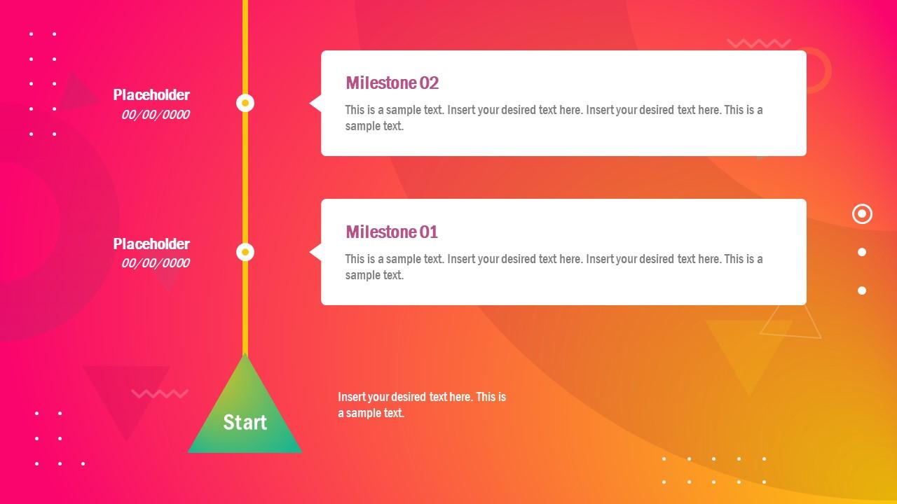 Vertical Timeline PowerPoint Design