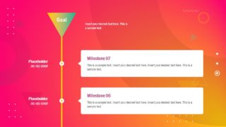 Infographic Colorful Plasma Template