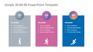 Simple 30-60-90 Day PowerPoint Template